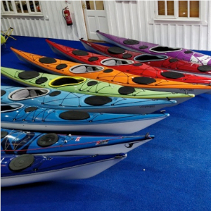Array of composite sea kayaks