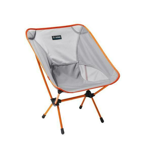 Helinox Chair one in Grey and orange