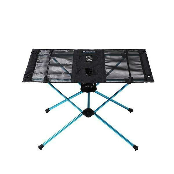 Helinox Table One in black and blue