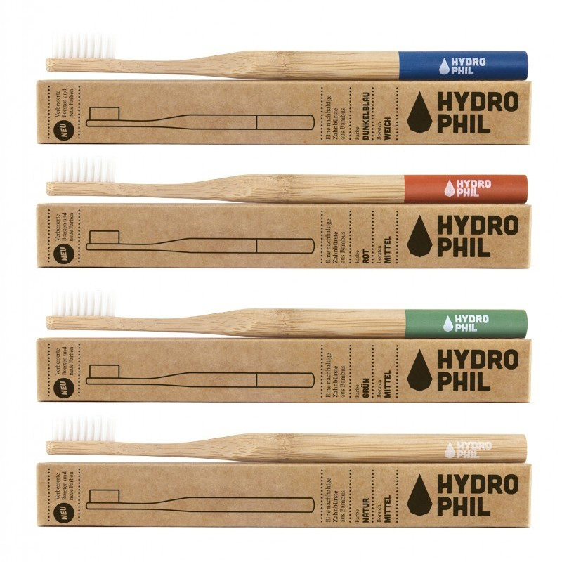 Hydrophil toothbrushes all colours