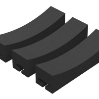 KajakSport Roof rack Shaped Foam Blocks