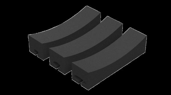 Kajaksport foam blocks for all bar shapes