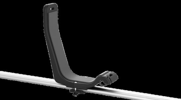Kajaksport J carrier mounted on roof bar