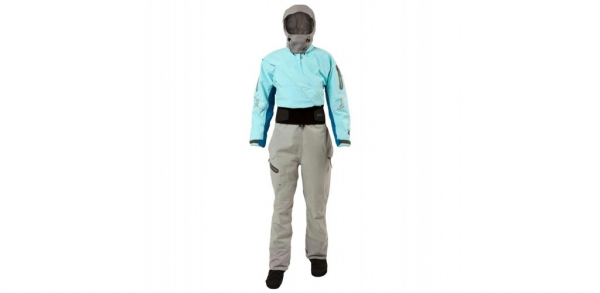 Women's Odyssey dry suit in Ice colour