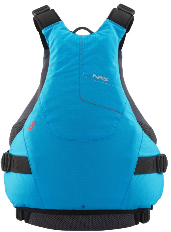 NRS Ion buoyancy aid in blue rear view