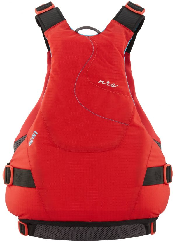 NRS Siren women's PFD rear view