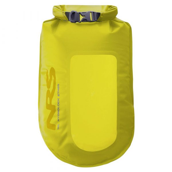 NRS Hydrolock dry bag in yellow