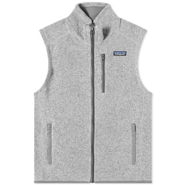 Patagonia Better Sweater Vest in Feather Grey