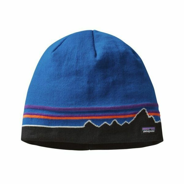 Beanie hat in Andes blue