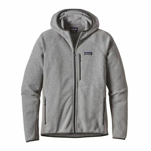 Patagonia Better Sweater Hoody in feather grey