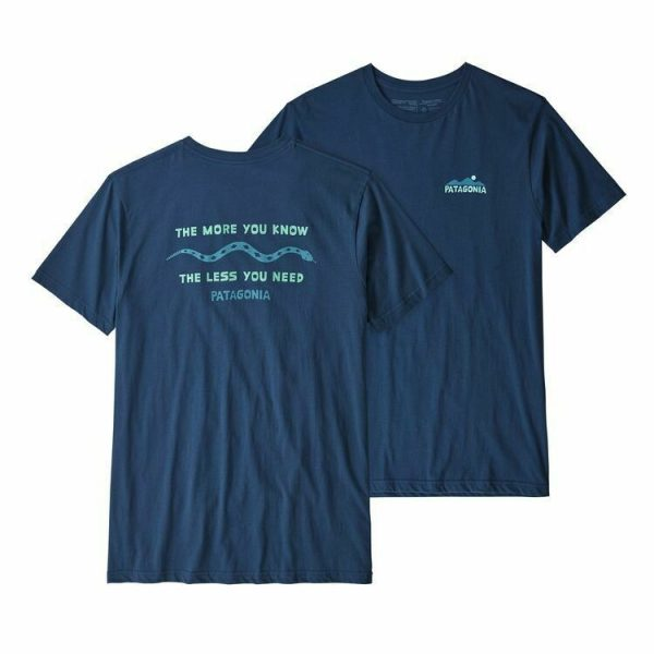Patagonia The Less you need t-shirt in blue