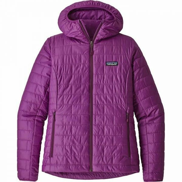 Patagonia Nano Puff hoody in Ikat purple
