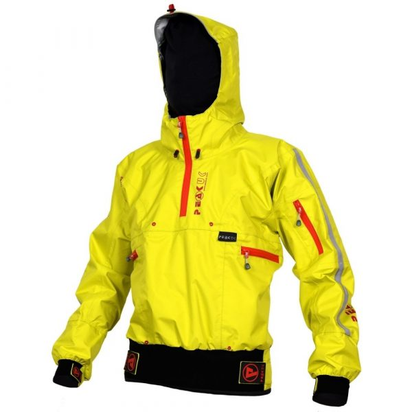 PeakUK Adventure Single cag in lime and red