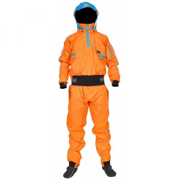 PeakUK Explorer drysuit front view