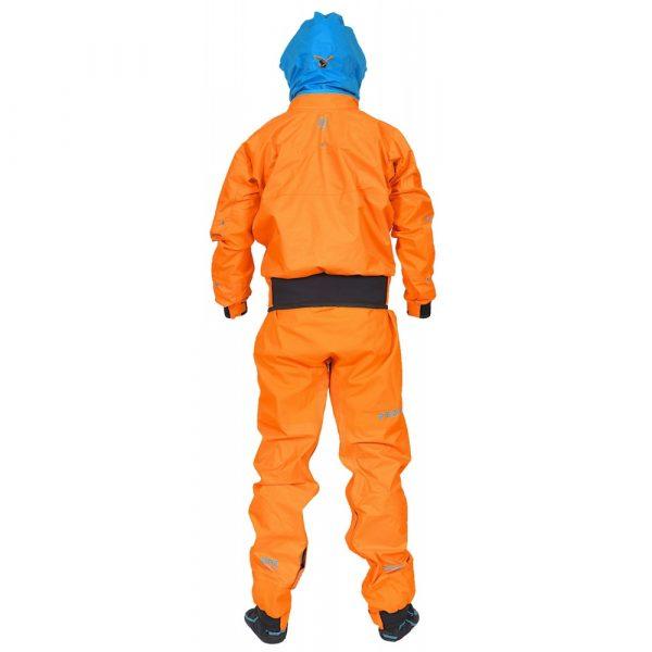 PeakUK Explorer drysuit rear view