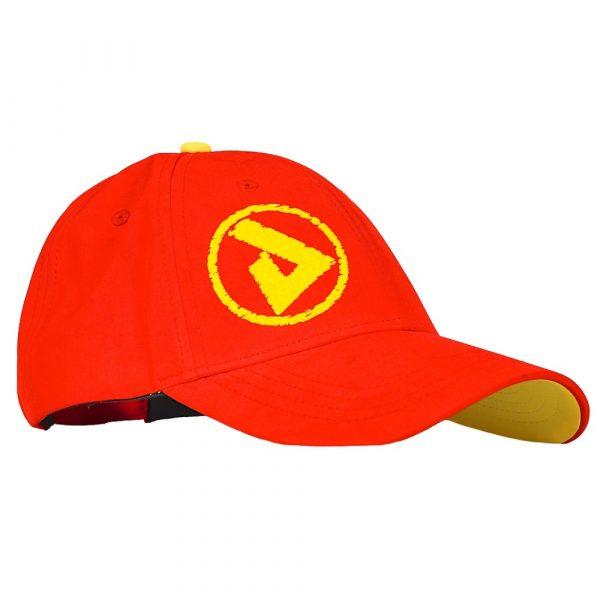 PeakUK baseball cap in red