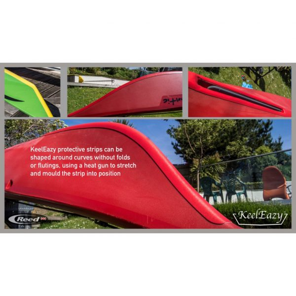 Keel Eazy applied to kayaks