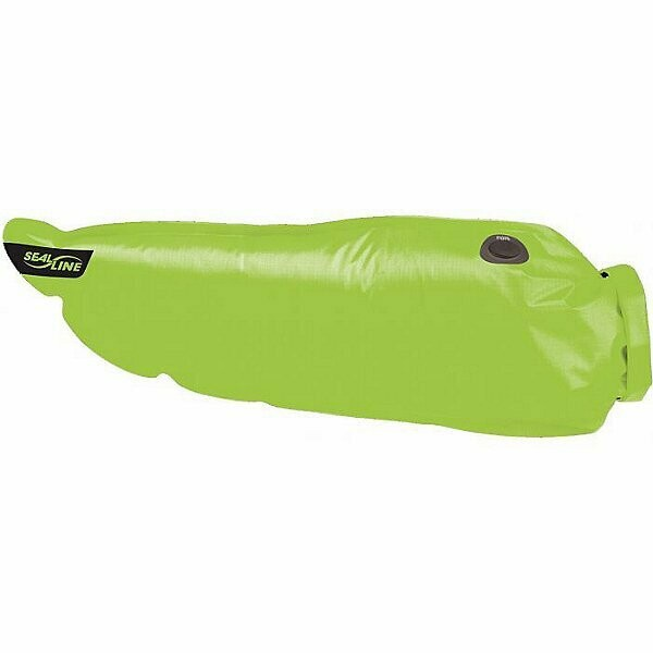 Tapered dry bag in green