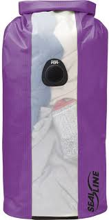 Seal Line Bulkhead View 10L drybag in purple