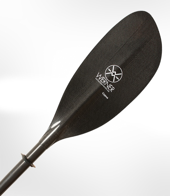 Werner Cyprus paddle blade