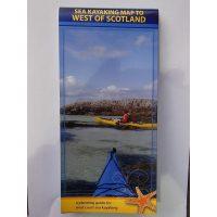 Sea Kayaking Map – West Coast of Scotland