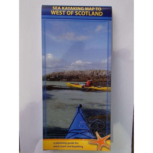 West Coast of Scotland map front cover