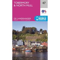 OS Landranger 47 Tobermory and Mull North