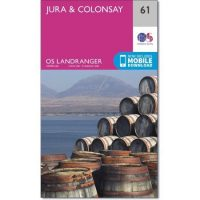 OS Landranger 61 Jura and Colonsay