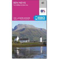 OS Landranger 41 Ben Nevis