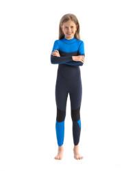 Jobe Boston Kids Wetsuit in Blue Full View