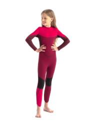 Jobe Boston Kids Wetsuit in Hot Pink Full View