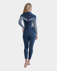 Jobe Sofia Wetsuit in Midnight Blue Full Back View