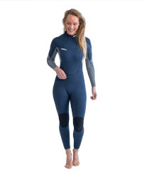 Jobe Sofia Wetsuit in Midnight Blue Full Front View