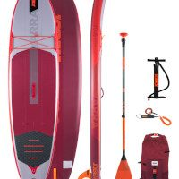 Jobe Yarra 10.6 Inflatable Paddle Board Package – Teal/Red