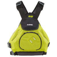 NRS Ninja Buoyancy Aid Green Front View