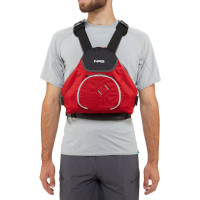 NRS Ninja Buoyancy Aid Red Front View Model