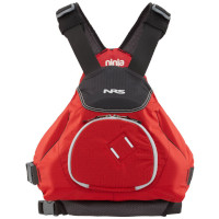 NRS Ninja Buoyancy Aid Red Front View