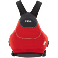 NRS Ninja Buoyancy Aid Red Rear View Model