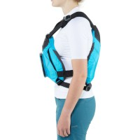 NRS Ninja Buoyancy Aid Teal Side View Model