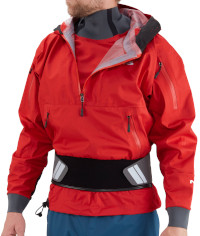 NRS Orion Touring Cag Jacket Full Side Model View