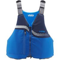 NRS Vista Bouyancy Aid Blue Front View