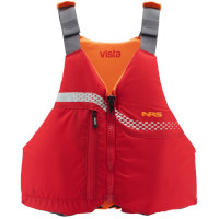NRS Vista Bouyancy Aid Red Front View