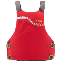 NRS Vista Buoyancy Aid Red Back View