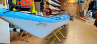 Northshore Atlantic LV Kevlar in Mazarine Blue Side of Nose with Name View