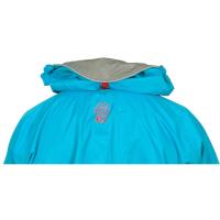 Peak UK Tourlite Hoody Blue Hood Stored on BackView