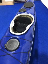 Valley Sirona 16.4 Diolen Blue Custom Kayak Cockpit View