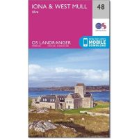 OS Landranger 48 Iona and West Mull