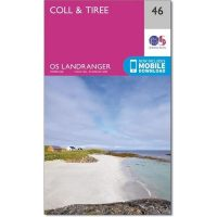 OS Landranger 46 Coll and Tiree
