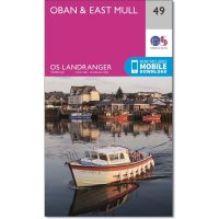 OS Landranger 49 Oban and East Mull