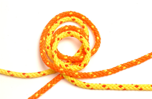 Float line Orange and yellow